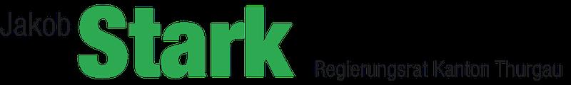 Regierungsrat Jakob Stark Logo